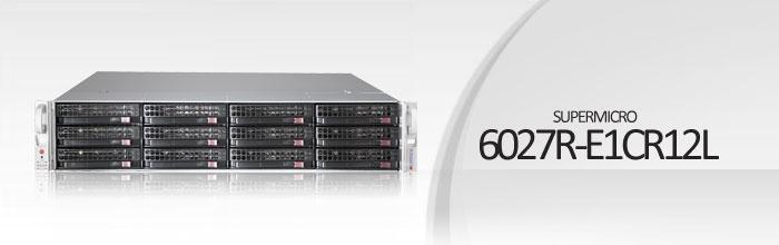 SuperStorage Server 6027R-E1CR12L
