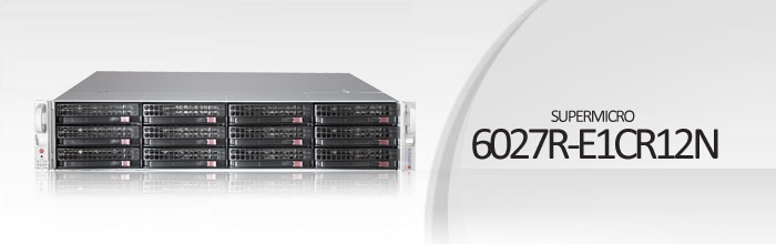 SuperStorage Server 6027R-E1CR12N