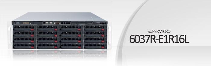 SuperStorage Server 6037R-E1R16L